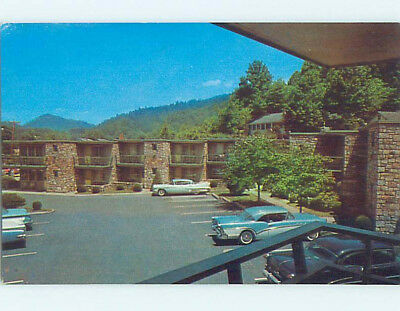 Unused Pre-1980 COOPER COURT MOTEL Gatlinburg Tennessee TN M3580