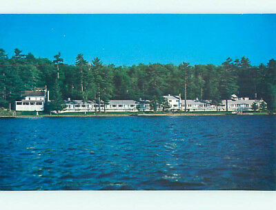 Unused Pre-1980 DRIFTWOOD MOTEL Laconia New Hampshire NH M3251-19