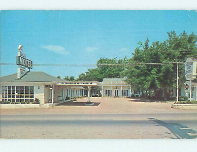 Pre-1980 TRAVELERS REST MOTEL Brentwood Tennessee TN M1292