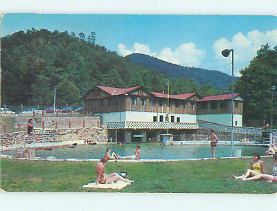 Pre-1980 SWIMMING POOL AT MAPLES MOTEL Gatlinburg Tennessee TN M1501