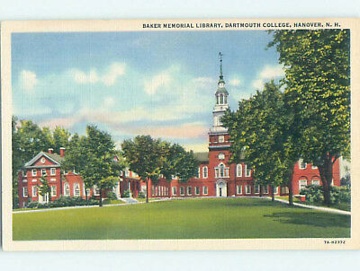 Linen LIBRARY AT DARTMOUTH COLLEGE Hanover New Hampshire NH L9403