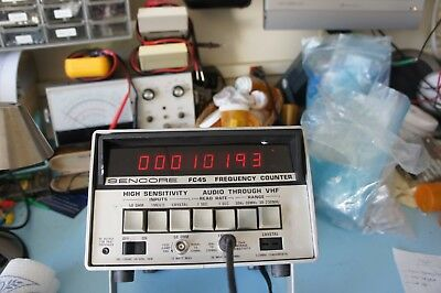 Sencore Frequency Counter Fc45