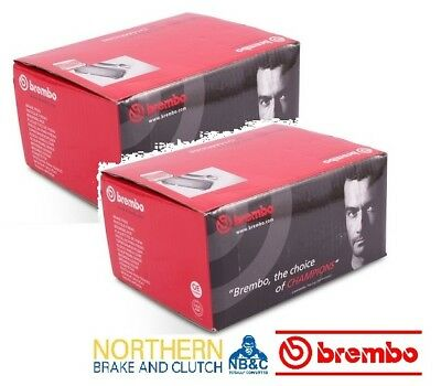 Brembo  Front & Rear Brake Pads To Suit Ford Falcon Ba & Bf Standard Calipers
