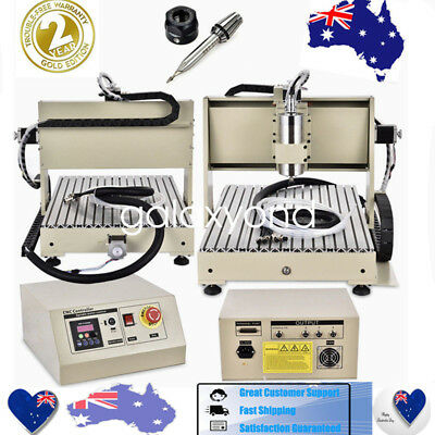 3Aix 4 Axis Cnc Router Engraver Engraving Milling Drilling Machine 3040 6040 New