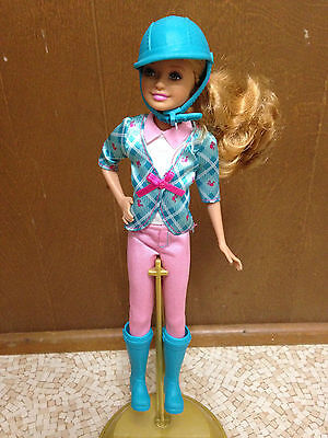 Barbie Doll and Her Sister in a Pony Tale Stacie Horse Ride Equestrian Doll Boot