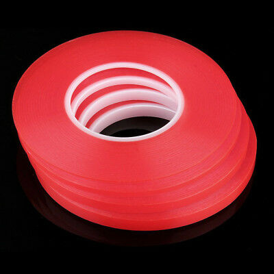 50M Red Film Clear Double Sided Strong Adhesive Tape Cell Phone Repair Healthy