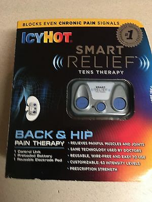 Icy Hot Smart Relief Starter Kit Part No. 0-41167-08045 exp 2019