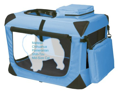 Pet Gear Generation II Deluxe Portable Soft Crate for Cats and Dogs up to 15-Pou