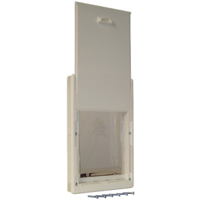 Ideal Pet Products 15-by-20-Inch Original Pet Door with Telescoping Frame, Super