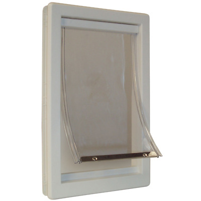 Perfect Pet Medium Soft Flap Cat Door with Telescoping Frame, 7-Inch by 11-Inch