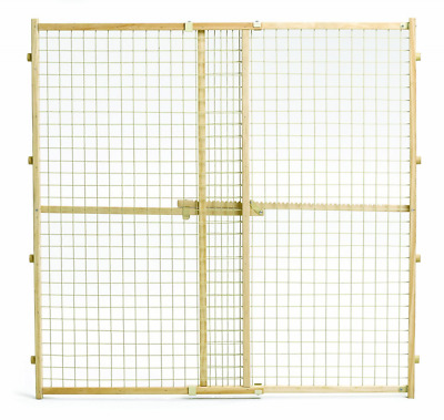 Midwest Wire Mesh Pet Gate, 29-Inch to 50-Inch Wide x 44-Inch Tall