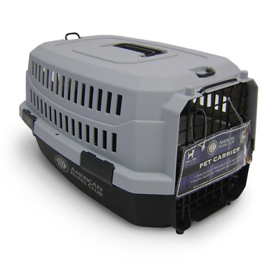 American Kennel Club Pet Carrier Small Size, Black Color