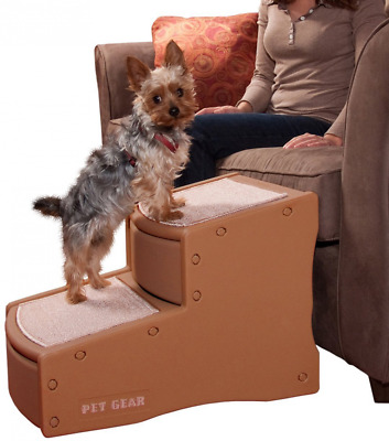 Pet Gear Easy Step II Pet Stairs, 2-Step for Cats and Dogs up to 150-Pounds, Coc