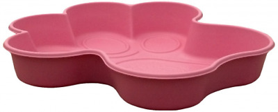 One Dog One Bone PPP04 Paw Shaped Dog Pool, Small, Pink