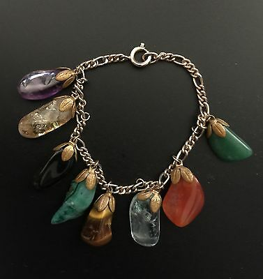 Bracelet With Different Kinds Of Gems
