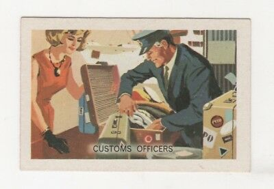 Australian Trade card - Customs Officer
