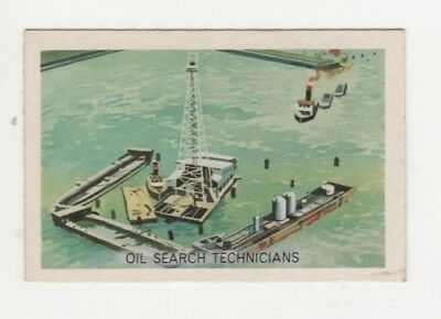 Australian Trade card - Drilling for oil