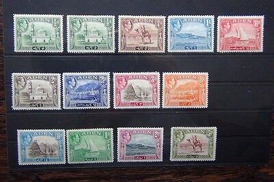 Aden 1939-48 set to 5rs MM