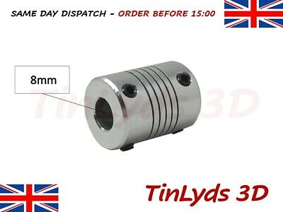 Flexible Shaft Coupling Coupler – 5x8mm shaft - 3D Printer Part CNC Machine