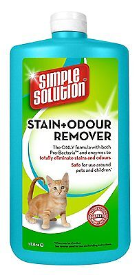 Cat Stain Odour Remover Vomit Urine Pee Feces Cleaner Pet Smell Odor Eliminator
