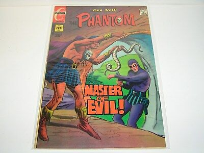 Vintage  Comic , The Phantom  Number  54 . Charlton  Comics. 1973.