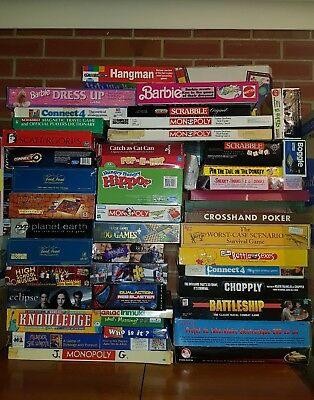 47 Board games & boxed games bulk - Some Vintage and rare games