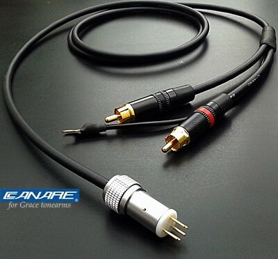 Canare Mini starquad tonearm cable suitable for Grace arms - 120cm long