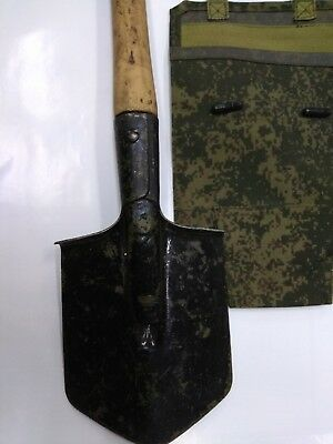 Sapper shovel with cover of Soviet army MPL-50 period WW2 with storage 1944 year
