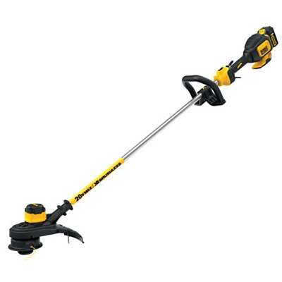 DEWALT 20V Brushless String Trimmer with 5.0 Ah Battery (DCST920P1)