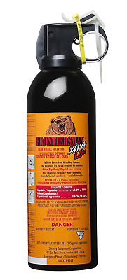 Frontiersman XTRA Bear Spray - Maximum Range & Maximum Strength - 10 Meters (325