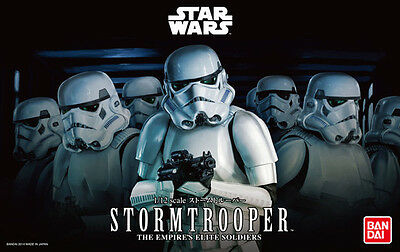 1/12 Star Wars Stormtrooper The Empire's Elite Soldiers Model Kit by Bandai