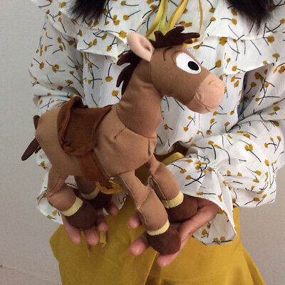 Toy Story 3 Woody Horse Bullseye Soft Plush Toy Doll Child Gift 23CM Height