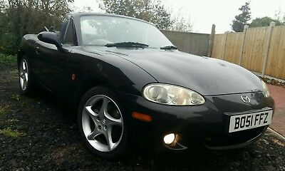 2001 Mazda MX5 1.8i S-VT Sport,Leather,*only 66000 miles* 1 Owner From New