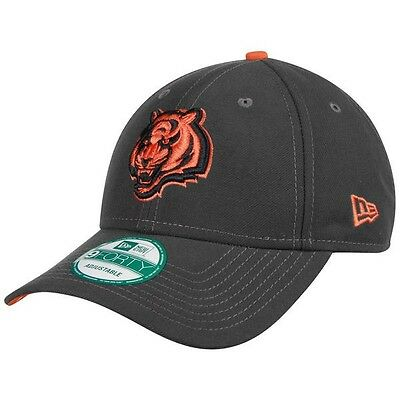 Cincinnati Bengals New Era 9Forty Grafpop Adjustable Cap - Graphite
