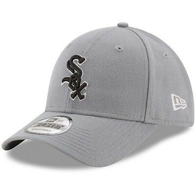 Chicago White Sox New Era 9Forty Storm Adjustable Cap - Grey