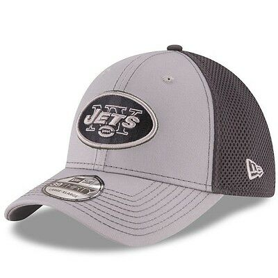 New York Jets New Era 39Thirty Grayed Out Neo 2 Flex Cap - M/L