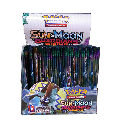 Pokemon Newest Cards PK8+1 Sun&Moon Guardian Rising 324pcs/ 36 packs Booster Box