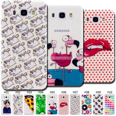 Rubber Silicone Shockproof Case TPU Cover Soft Back For Samsung Galaxy J5(2016)