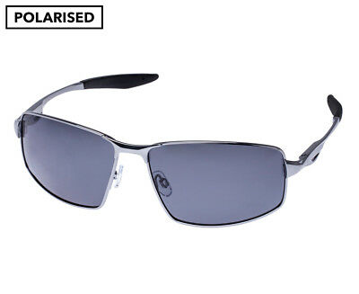 Glarefoil Men's Polarised Tyrrell Sunglasses - Gunmetal Grey