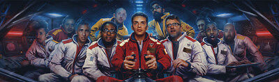 "Logic The Incredible True Story Banner Poster 51x15"" Music Album Art Silk"