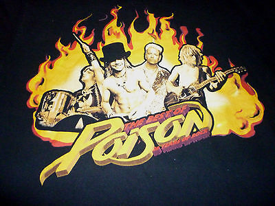 Poison  Tour Shirt ( Used Size L ) Very Good Condition!!!