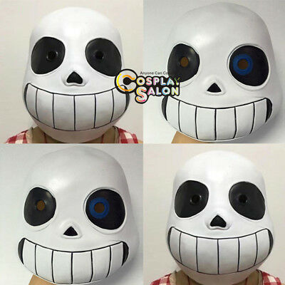 Halloweem Mask Undertale Sans Cosplay Non-toxic Adult Child Fancy Party Props