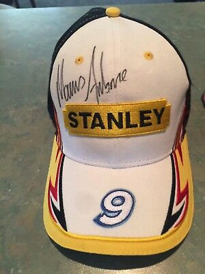 Marcos Ambrose Autograhed Cap Brand new