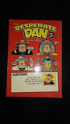 Desperate Dan Annual 1991 Vintage Comic Book