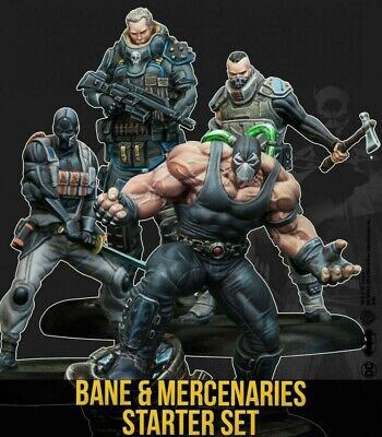 Bane Starter Set Knight Models 2nd Edition New Batman Miniatures Game