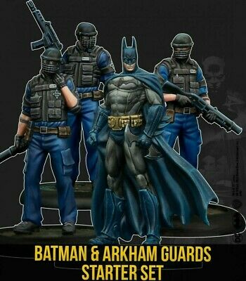 Batman Starter Set Knight Models 2nd Edition New Batman Miniatures Game