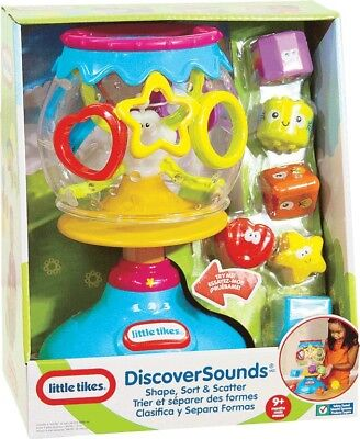 NEW Little Tikes Discoversounds - Shape Sort & Scatter from Mr Toys