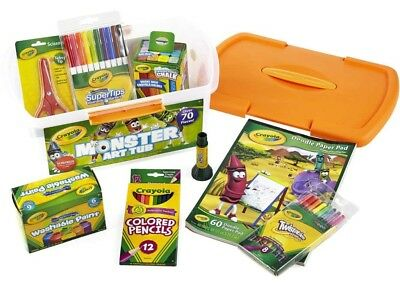 NEW Crayola Monster Art Tub with Over 70 Pcs from Mr Toys