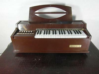 Orgel Heimorgel Design Magnus Modell 391 USA Electric Chord Organ Keyboard Rar