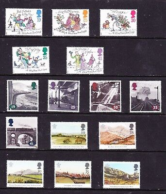 Great Britain stamps - 15 MUH